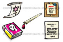 Bat-Mitzvah Bibliographies Biographies Bonds Bookmarks Vector Graphics