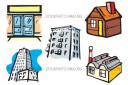 Buildings Housing Lodges Malls Manufacturers Metropolitan Vector Image