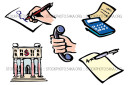 Accounting Advice Animation Autographs Banks Business Vector ClipArt