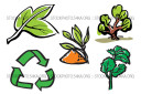 Basil Biology Bushes Cilantro Conservation Ecology Vector Clipart