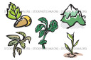 Mint Mountains Nature Nurseries Oregano Ecology Mini Vector Pack