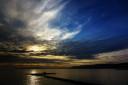 Seascape Coastal Sunset