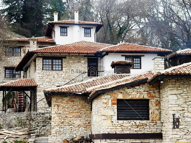 Оld traditional style houses yellow wooden wood white vintage village tree travel traditional tradition town tourist tourism stone rural retro renaissance orange old nature museum medieval Lifestyle landscape Idyllic house home history historical green gabrovo flower firewood facade exterior european europe ethnographic eastern Culture bulgarian bulgaria building beautiful balchik authentic architecture architectural 54ka StockPhoto