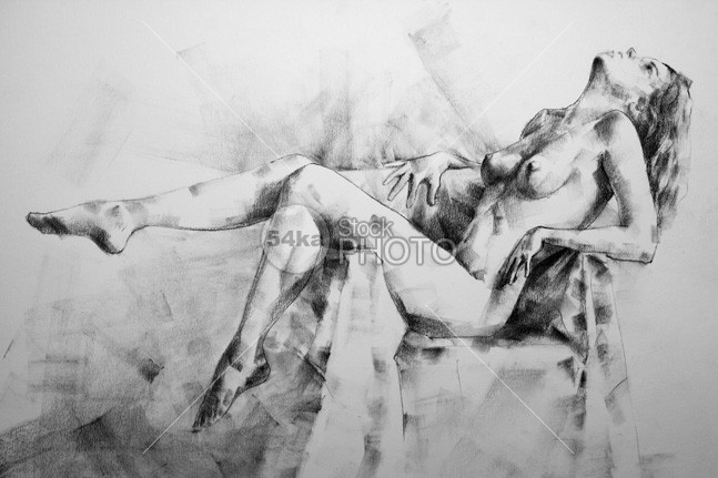 Charcoal Drawing Recumbent Woman young years women woman stylish sketching sensual relaxing recumbent prostrate procumbent pretty portrait person pencil one lying life Leaning incumbent home happy happiness hair Graphics flat decumbent Cheerful Charcoal Drawing Caucasian break black and white beautiful beaten down b&w attractive artwork artist Art & Craft Art accumbent abed 54ka StockPhoto