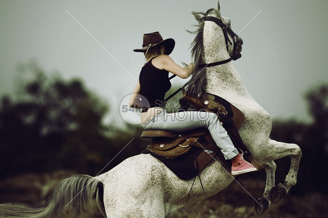 Beautiful girl riding a horse in countryside – equestrian photography young woman wind wild western travel thoroughbred sunset sun strong stallion speed saddle rodeo Riding rider ride rearing purebred pet outdoors nature mammal horseback horse hat happy hair graceful girl gallop field female farmland equitation equine equestrian dusk dressage dramatic cowgirl countryside colorful color breed beauty back attractive animal American adult 54ka StockPhoto