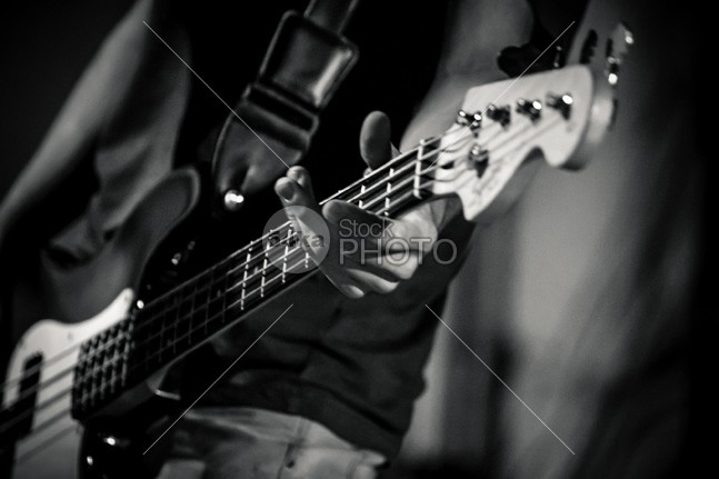 Guitar – close up hands Youth young vintage studio Standing sound solo sensual rocker rock playing player person performance musician musical music modern model Men Male light colored instrument Indoors holding high fidelity handsome guy guitarist guitar fun Fashion expression entertainment energy emotion Electric Culture cool concert chord bassist bass 54ka StockPhoto