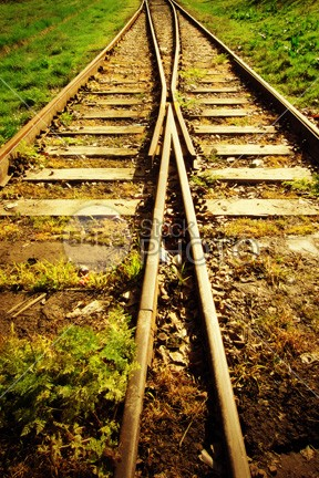 Railway track way voyage vegetation Twilight tree travel transportation transport transit train track sunset sunrise sundown sun steel speed sky serenity scenic scenery scene road railway track railway railroad rail perspective path park outdoor orange nature long line landscape journey iron Idyllic horizon heaven green gravel fantasy dusk dramatic direction country colorful cloudy 54ka StockPhoto