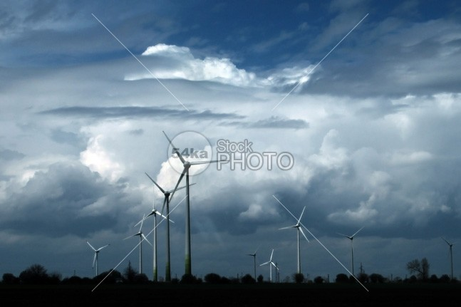 Wind turbines generating electricity and cloudy sky windpower windmill windfarm wind turbine wind white warming turbine tower Technology sustainable sustainability supply station spin sky rotation rotate resource renewable production power plant nature mill landscape innovation industry industrial green grass global generator generation generate field environmental environment energy electricity Electric efficiency dioxide development Conservation climate change carbon blue alternative 54ka StockPhoto