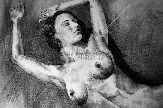 Figure of beautiful woman vintage pose drawing woman vintage trade study studio stroke sketchbook sketch romantic retro practice Pose Picture paper painting painters outlines nude lines illustration hand girl freehand fine feature drawing draw draft design craft classical cartoon background authentic artwork artistic Art academic 54ka StockPhoto
