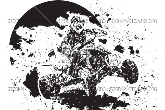 Off-Road 4×4 – Vector image white wheeled wheel weehls vehicle Vector transportation transport sport speed simple sihouette road ride race quadrocycle quadro quadracycle quadra quadbike quad-bike quad Powerful pdf outdoor one offroad off-road off object nobody new mountain motorcycle motorbike motor motocross moto monochrome modern machine jump jeep isolated inc illustrator illustration horizontal helmet gray Graphic front four-wheel four file Extreme eps8 engine drawing download dirt design cycle cross-country cross clipart car blue black bikes biker bike big background atv Adventure action 4x4 54ka StockPhoto