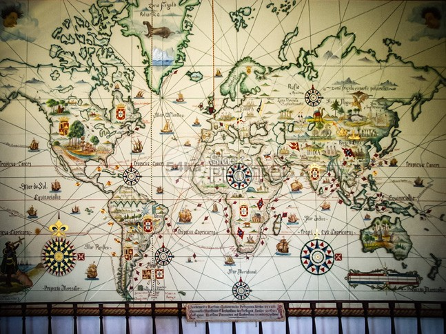 Beautiful Map Of The World.Beautiful World Vintage Map Stock Photo Other 54ka Stockphoto
