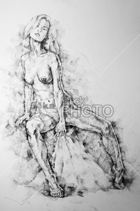 Young woman sitting on chair – Pose Drawing young woman drawings woman vintage Style sketch sexy sensual realism drawings realism pretty Posing pencil nudes nude naked monochrome model pose model live model lady illustration hand graphite Glamour girl figure figurative drawings figurative female nudes female erotic elegant elegance drawings charcoal drawings charcoal breasts boobs body black and white beauty beautiful background artistic Art adult 54ka StockPhoto
