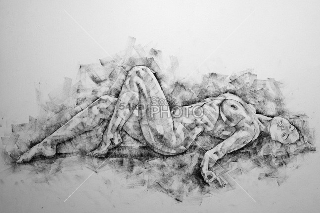 A girl poses a lying posture young woman drawings woman vintage Style sketch sexy sensual realism drawings realism pretty Posing pencil nudes nude naked monochrome model pose model live model lady illustration hand graphite Glamour girl figure figurative drawings figurative female nudes female erotic elegant elegance drawings charcoal drawings charcoal breasts boobs body black and white beauty beautiful background artistic Art adult 54ka StockPhoto