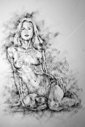Female Sitting Pose Drawing paint outline one model line lady implied image illustration human hand graceful grace Glamour girl fine figure femininity feminine female fantasy expression exercise elegant elegance educational education drawing draw Desire design creative craft contour coal classical charming charcoal body blonde beauty beautiful bare authentic atelier artwork artistic Art Anatomy academy 54ka StockPhoto