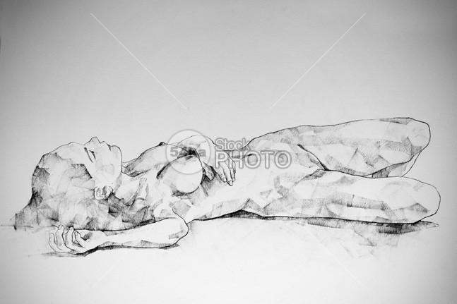 Lying Girl Charcoal Drawing woman lying woman sensuality pose drawing pencil original drawing Original model pose limited edition life drawing graphite girl Fine Art figure drawing figurative art female expressives erotic art erotic drawing classical drawing charcoal art Art 54ka StockPhoto