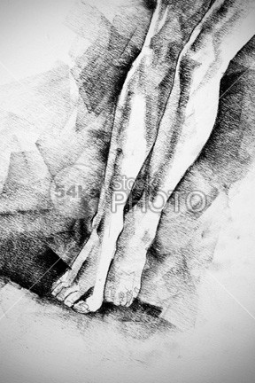 Woman Legs Figure Drawing young Woman Legs woman white studying standing woman standing pose Standing sketch Pose Picture person People pencil pastel paper outline one muscles model live line life legs Leg JPG image illustration human girl file figure drawing figure drawing download design classical drawing classic pose charkoal charcoal body artwork Art anatomy for artist Anatomy academical 54ka StockPhoto