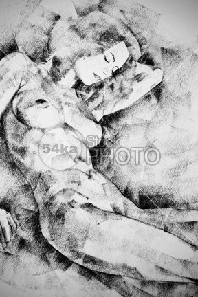 Beautiful Girl Figure Drawing young whole figure white symbol studying sketch sit pose drawing Pose Picture person People pencil pastel pasteboard paper outline one old muscular muscles model line light life Leg isolated image illustration human girl figure figura drawing design charcoal cardboard body beautiful bare back artwork Art Anatomy academical 54ka StockPhoto