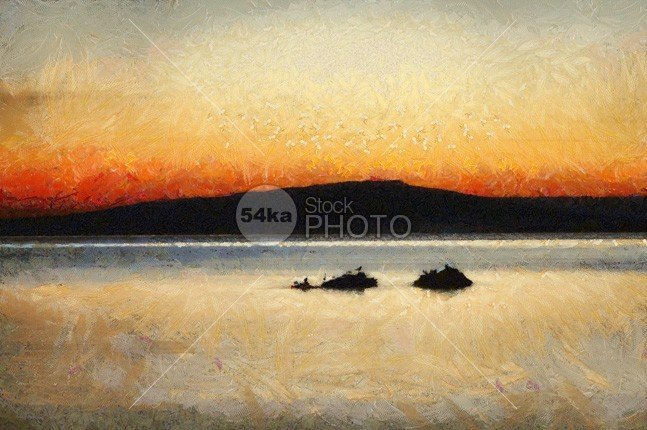 Sunset Seascape weather waves water warm vibrant vacation Twilight sunset sunrise sunlight sun summer sum skyline sky seascape sea rock red panoramic painting painter outdoors orange ocean nature natural mountain Motion mediterranean long landscape Lake island horizontal horizon holidays heat evening drawing Desert colorful color coast clouds cloud clear calm blur blue birds beauty background Art 54ka StockPhoto