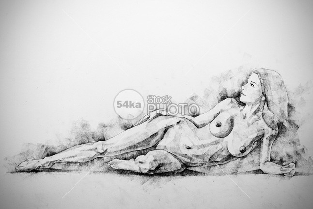 Figure Fine Art Drawing – Woman classical pose white wellness well unic twenties torn stylish sleep Sitting sexy serious serene sensuality seated relaxed relax profile pretty Posing pose drawing portrait person Pensive pencil palace one model Luxury looking long lie down length Individuality hair graphite gorgeous girl female feet expression drawinf confidence charcoal beautiful background artistic Art antique amazing art adult 54ka StockPhoto