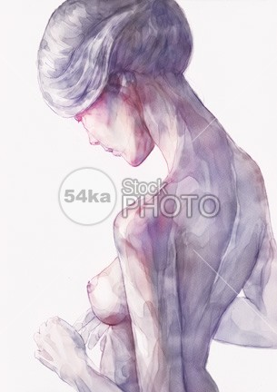 Back Side Watercolor Portrait of a Girl watercolor vogue texture Style sensual sensitive relax pretty portrait person painting paint modern model makeup luxurious Lips lady illustration Hairstyle hair Glamour girl female Fashion Illustration Fashion face elegance draw design delicate decorative cute color calm brown body beauty beautiful background Back Side artist Art aquarelle painting aquarelle act abstraction abstract paintings abstract painting abstract 54ka StockPhoto