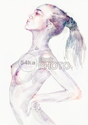 Sensual pose aquarelle portrait of a girl paper painting painter paintbrush paint nude portrait mottled looking liquid lingerie light lady ink image illustrator illustration handwork hand hair grunge gorgeous glow girl flawless female figure female droplet drop drawn drawing draw dirty cute Creativity color brunette body blob bikini beauty face beautiful bathing attractive woman artwork artistic artist Art aquarelle acrylic abstract 54ka StockPhoto
